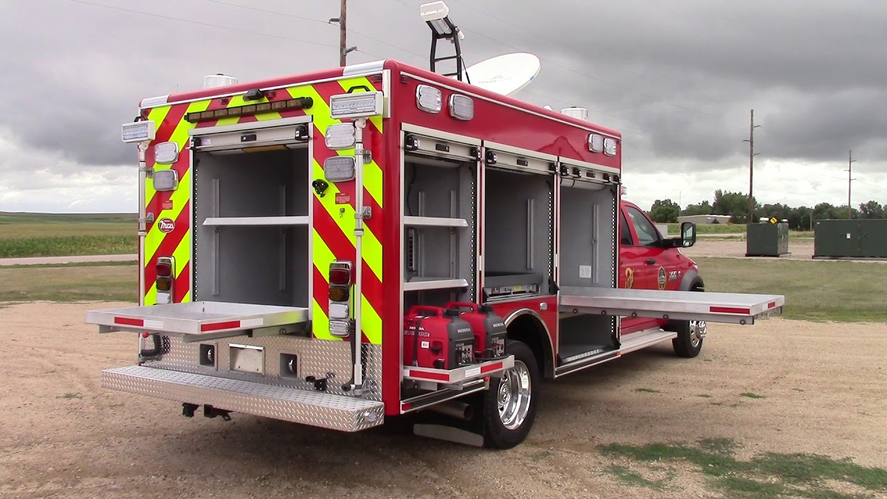MCB Mobile Communications Vehicle for South Metro Fire & Rescue