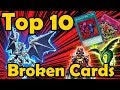 Top 10 Most Broken Cards Ever Printed in