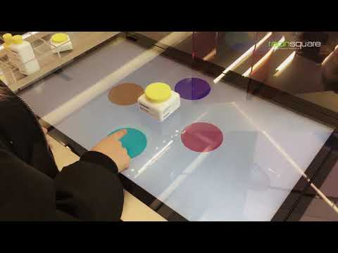Interactive Smart Table / Kiosk for Cosmetics Store (Olive Young Gang-nam Flagship Store)