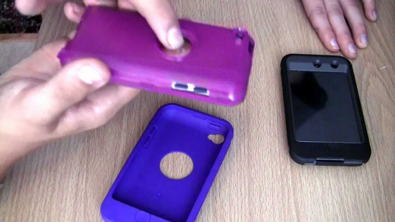 Otterbox Defender Case For Ipod Touch 4th 4g Boom Purple Review