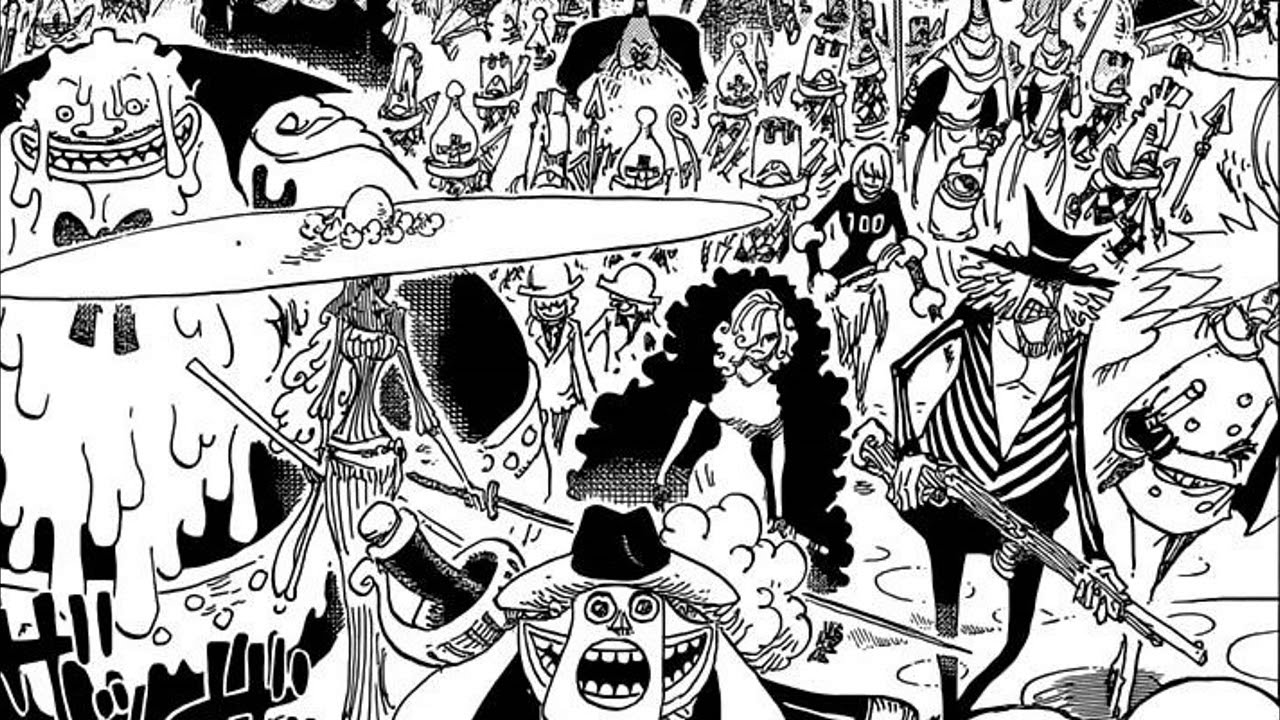 If playback doesn't begin shortly, try. One Piece 845 ïンピース Manga Chapter Review Luffy Vs Big Mom S Army Youtube