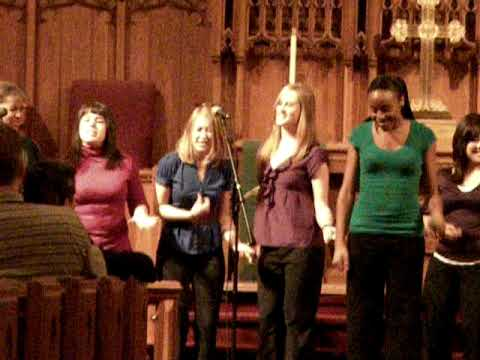 Mizzou's premiere women's a cappella group In Melting port concert for yirui part4