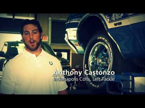 Indy Tire & Anthony Castonzo....just the Caps Guy