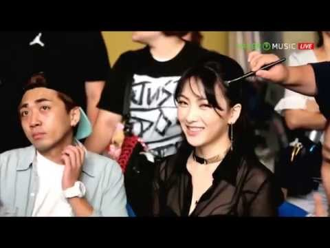 KARA Damaged Lady MV Making Film @ Full Bloom Showcase 130902