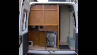Diy Self Build Camper Van Conversion Project.