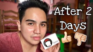 SNOW SKIN WHITENING SOAP 2 Days After | Review from Davao