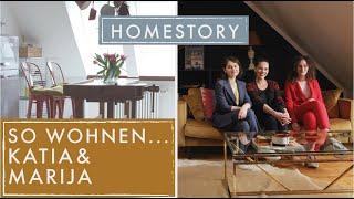 So wohnen...Marija und Katja | Vintage Mix in Perfektion | Home Story | Jelena