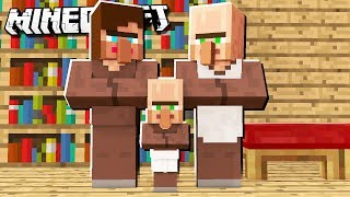 IF VILLAGERS Had BABIES in Minecraft!