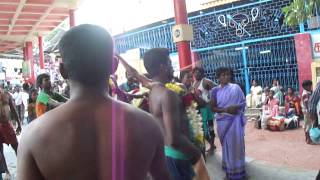 Devotional dance in Thiruchendur Murugan Temple