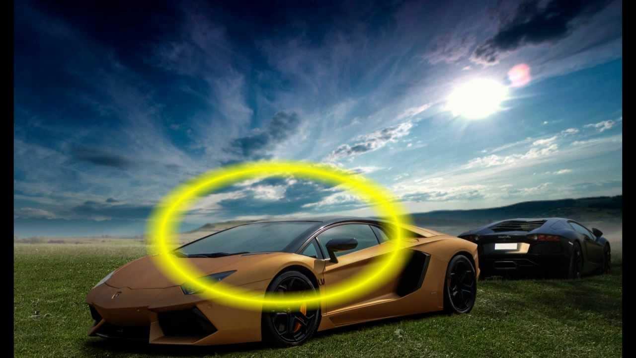 Photoshop Breakdown Lamborghini Aventador Youtube