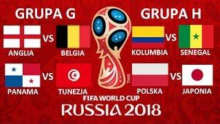 TURNIEJ PANINI WORLD CUP RUSSIA 2018 #12 - ANGLIA VS BELGIA, POLSKA VS JAPONIA