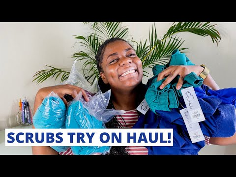 SCRUBS TRY ON HAUL & REVIEW 2020! |