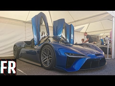 The Most Expensive Traffic Jam - Goodwood Festival Of Speed 2018