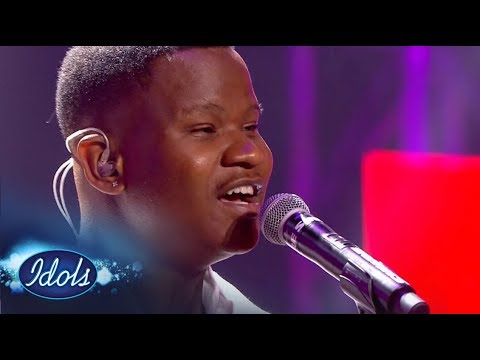 Top 16 Group Two: Mthokozisi's epic throwback | Idols SA Season 13