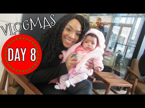 VLOGMAS 2017 | DAY 8: DAY AT THE MALL, DOCTOR APPOINTMENT! | VLOG #49
