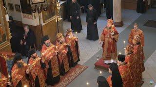 Праздник святителя и Чудотворца Николая. Всенощное бдение.