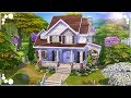 SINGLE MOM HOME (FAMILY HOME)  The Sims 4  Speed Build