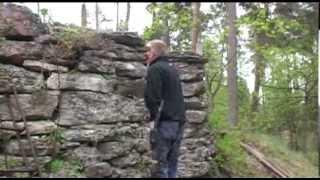 Traditionell kalkbränning på Gotland