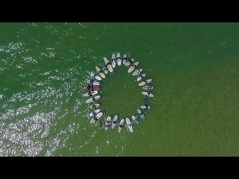 Surfcamp   Cap Ferret France 2016   Drone   Trailer  