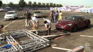 100th anniversary - Aston Martin - Burj Al Arab (show & making-of) - Final