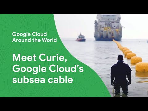 Meet Curie, Google's international fiber optic subsea cable