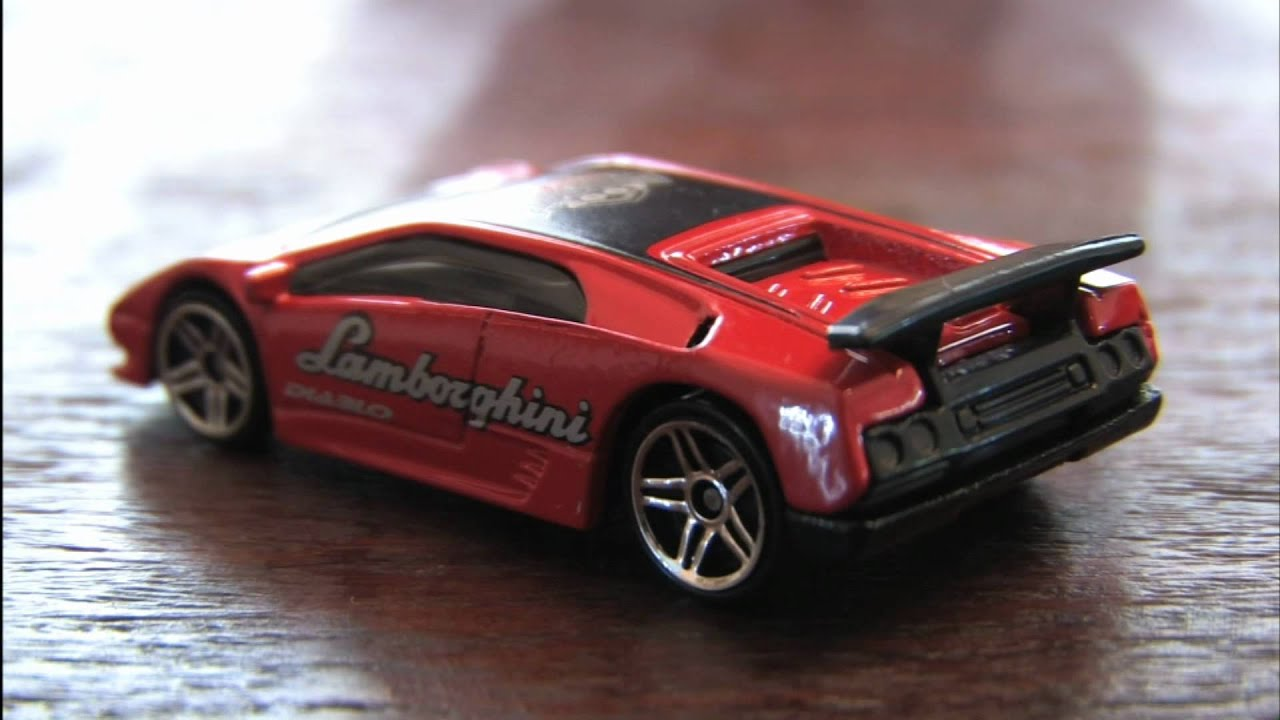 Cgr Garage Final Run Lamborghini Diablo Hot Wheels