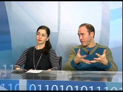 Intervista a Elena Russo Arman e Cristian Giammarini - Milano Sipario Telelombardia