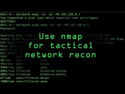 How To: Tactical Nmap for Beginner Network Reconnaissance