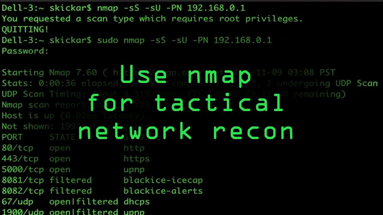 Tactical Nmap for Beginner Network Reconnaissance « Null
