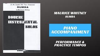 Maurice C. Whitney – Rumba (Piano Accompaniment)