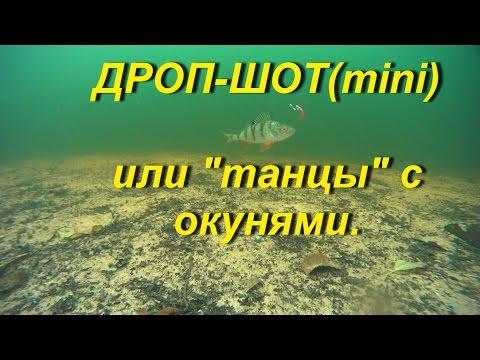 """Подводное видео Full HD.Дроп-шот(mini) или """"танцы"""" с окунями.Cьемки в режиме реального времени."""