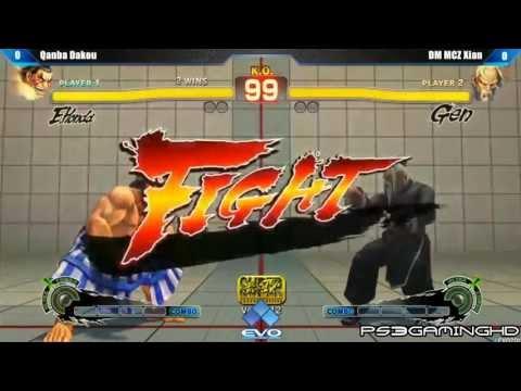EVO 2K13: SSF4 AE Xian (Gen) vs Dakou (E.Honda/Fei Long) [HD]