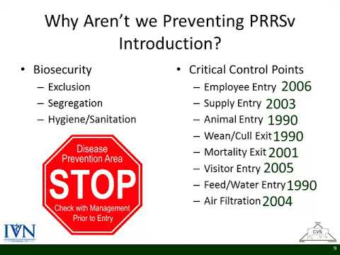 Dr. Clayton Johnson - Why Are We Not Making More Progress to Decrease PRRS Incidence?