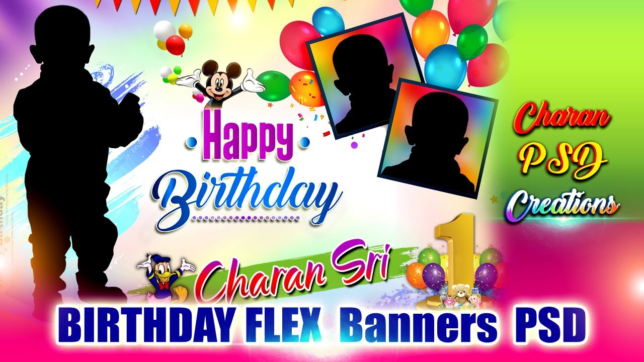 Birthday Flex Banners Psd Youtube All of these banner resources are for free download on pngtree. birthday flex banners psd