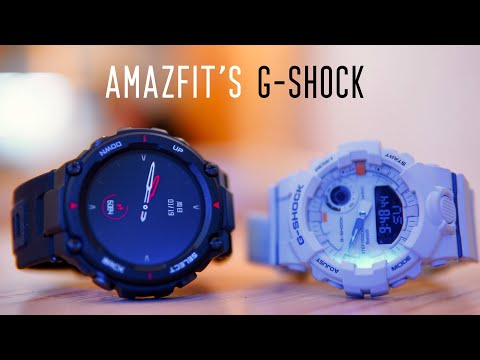 Amazfit T-Rex Unboxing and First Impressions! Is It a G-Shock Wannabe?