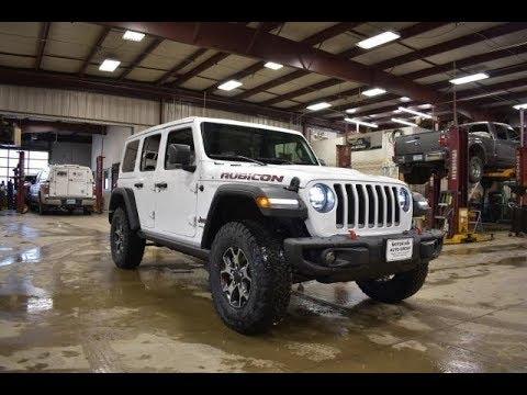 2018 bright white jeep jl wrangler unlimited rubicon walk. Black Bedroom Furniture Sets. Home Design Ideas