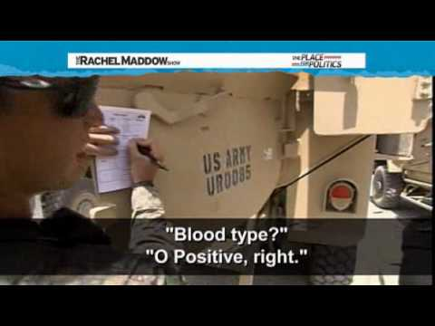 Rachel Maddow - Outling the Mission (2) in Afghanistan - General Hodges