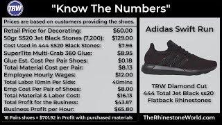 Making Money with Rhinestone Adidas Shoes