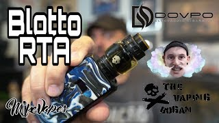 Dovpo BLOTTO RTA By The Vaping Bogan - Coil & Wick Tutorial