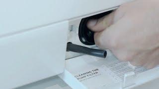 Çamaşır makinesi filtre temizliği nasıl yapılır