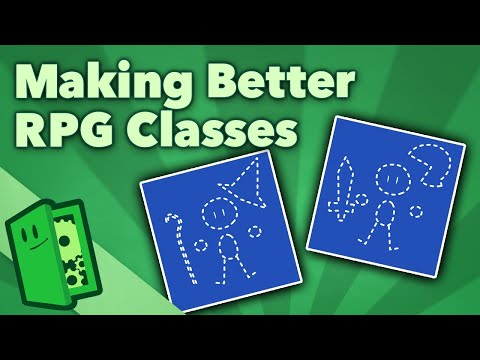 Making Better RPG Classes - What Makes a Class Classic? - Extra Credits