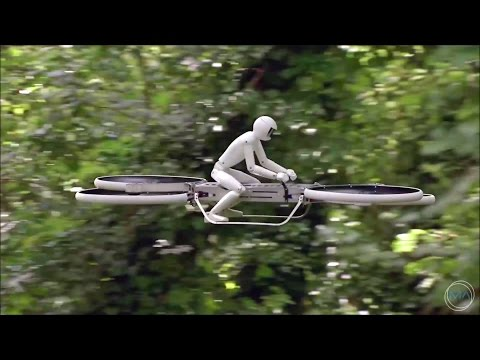 Malloy Aeronautics - P2 Hoverbike Flight Test [1080p]