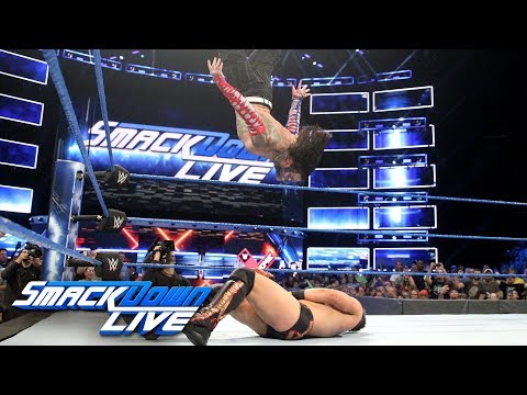 SmackDown vs. Jeff Hardy vs. The Miz vs. Independence Day US Open Challenge