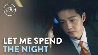 Jeon Yeo-been tries to charm her way into a sleepover at Song Joong-ki's | Vincenzo Ep 9 [ENG SUB]