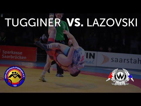 RINGEN - DMM FINALE (Vorkampf)  - 71kg GR - Marc-Antonio Von Tugginer  Vs. Witalis Lazovski