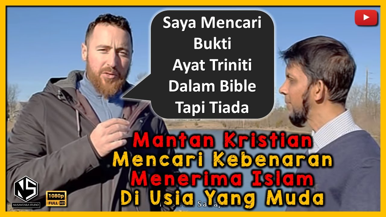 Mantan Kristian Mencari Kebenaran Menerima Islam Di Usia Yang Muda   Sabeel Ahmed