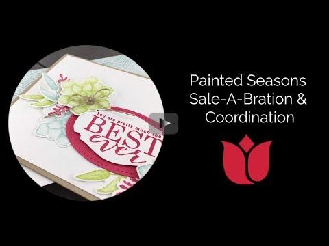 Painted Seasons & Four Seasons Framelits Coordination