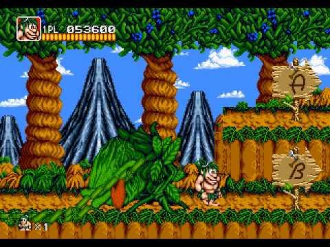 Mega Drive Longplay [316] Joe & Mac - Caveman Ninja