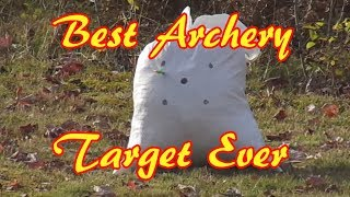 Gambar cover DIY Homemade Archery Target - Crazy Easy And Free
