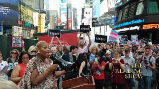 Pepper Mint Speech @ Transgender Rally in Times Square